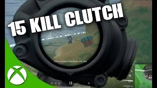 ULTRON'S DISGUSTING CALLOUTS! 15 KILL SANHOK CLUTCH! PUBG XBOX ONE | PLAYERUNKNOWN'S BATTLEGROUNDS
