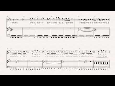 Flute  Again  YUI   Sheet Music, Chords, & Vocals