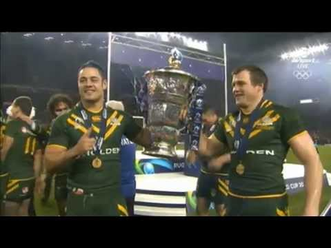 Rugby League World Cup Award 2013 - Winner Australia