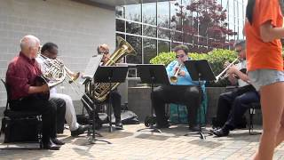 UNCW Brass Quintet at Cape Fear Community College - Song 3