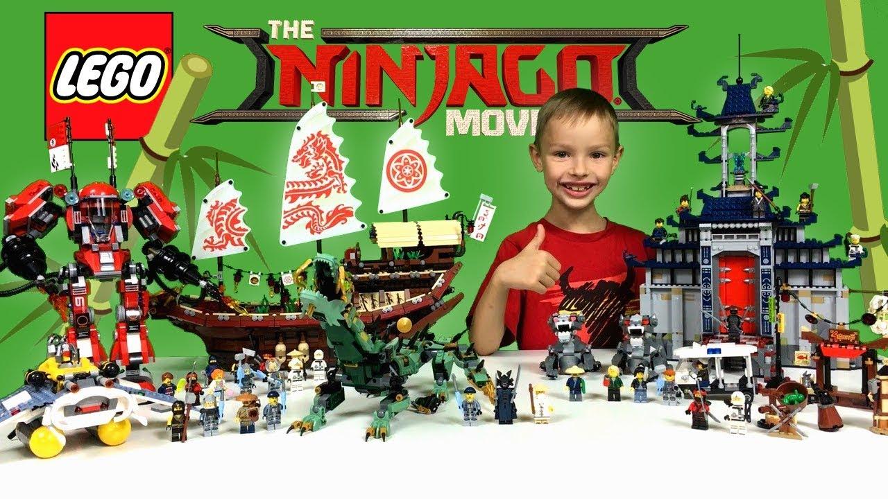 Kolekcja Lego Ninjago Movie Zestawy Minifigurki Książki