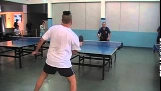 Sergio Tulio Table Tennis vs Junior