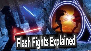 Crazy Star Wars Episode 9 Rumor:  Kylo & Rey Flash Fights??