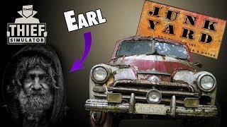 Earl's New Junkyard   Car Thief Fail   Thief Simulator