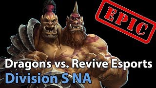 ► Heroes of the Storm: Sleeping Dragon vs. Revive Esports - Division S NA