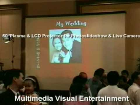 Party Purrfect Multimedia Visual Entertainment in Weddings