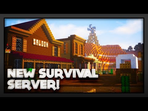 New Minecraft Survival Server Launch! IP: mc kaoshkraft net