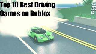 Top 5 Best Driving Games on Roblox (Not in Order)