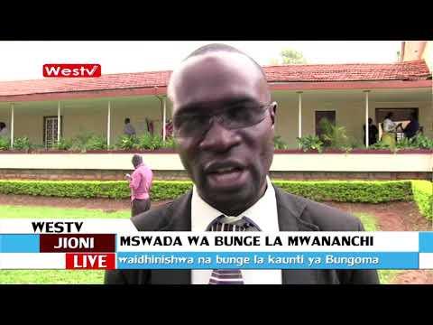 Bunge la Bungoma laapitishwa mswada wa bunge la mwananchi