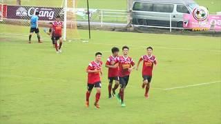 Thailand Youth League Highlight : สมาคมกีฬาแห่งจังหวัดสมุทรปราการ 1-4 เกร็กคู สายไหม ยูไนเต็ด