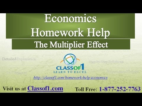 Economics homework help free