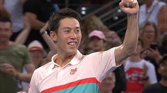 Daniil Medvedev v Kei Nishikori match highlights (Final)