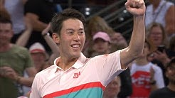 Daniil Medvedev v Kei Nishikori match highlights (Final)