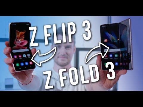 Samsung Galaxy Z Fold 3 e Z Flip 3: ora è UN'ALTRA STORIA! Prezzo, specifiche, impressioni