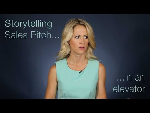 The Storytelling Sales Pitch in an Elevator