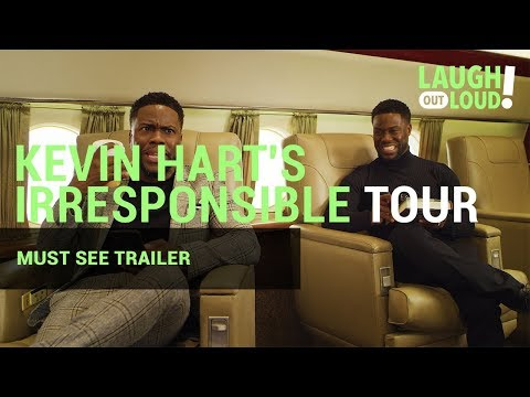 Kevin Hart's Irresponsible Tour | Must See Trailer | LOL Network