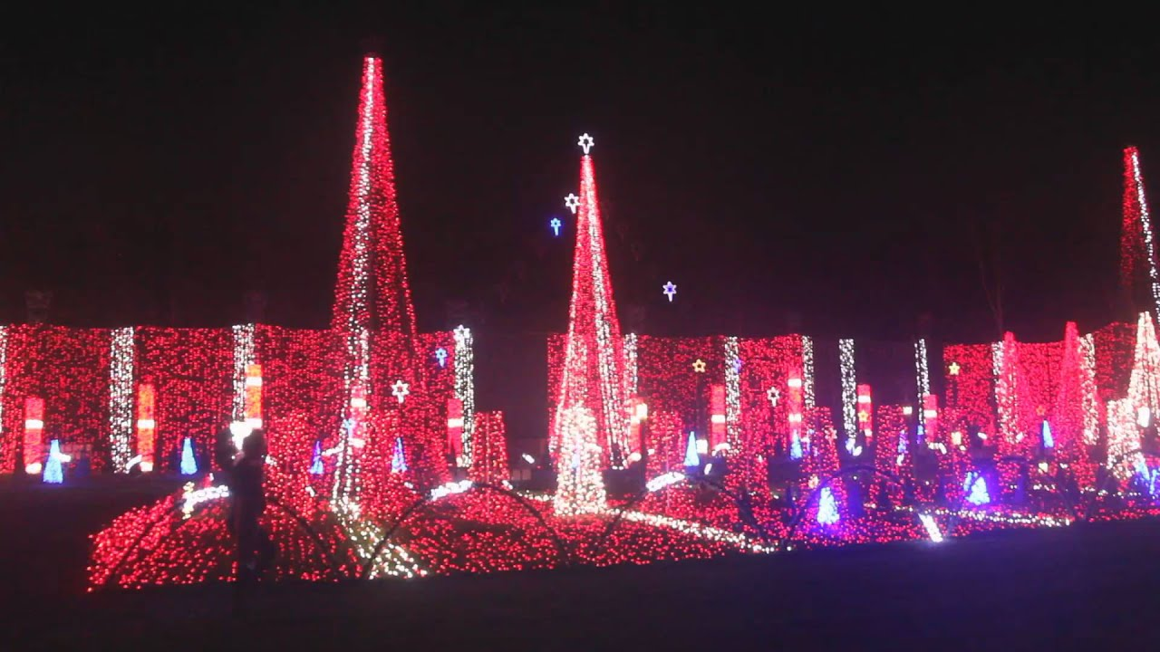 2015 Plantation Baptist Church musical Christmas lights ...