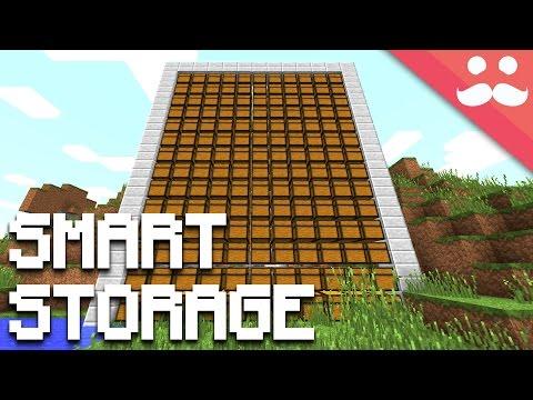 How To Make SMART STORAGE In Minecraft!