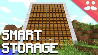How to make SMART STORAGE in Minecraft!