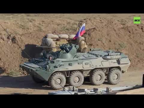 Российские военные заняли покинутую американцами военную базу в Сирии