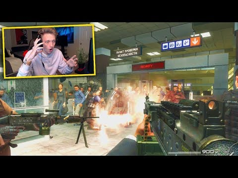 """RUSSIAN REACTS TO """"NO RUSSIAN"""" COD MISSION... (WARNING)"""