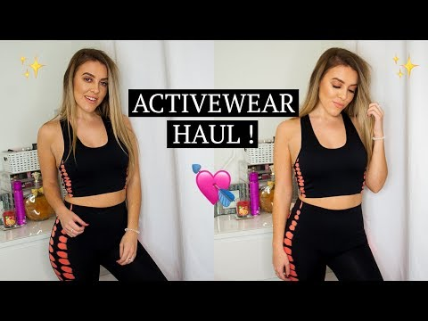 55027024ad3c3 GYM CLOTHES ON A BUDGET? ACTIVEWEAR HAUL / TRY ON - PRIMARK / BOOHOO ...