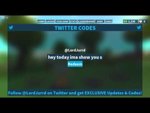 FORTNITE ISLAND ROYALE CODES MAY 19TH 2018 - YouTube