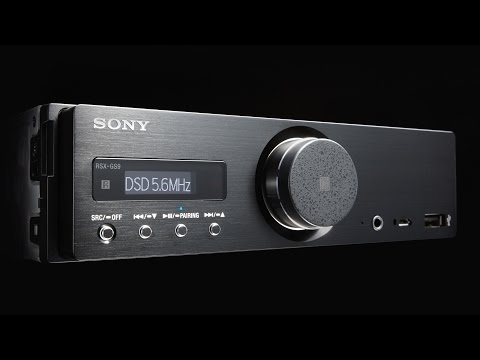 Sony RSX-GS9 Hi-Res Car Stereo Receiver | CES 2016