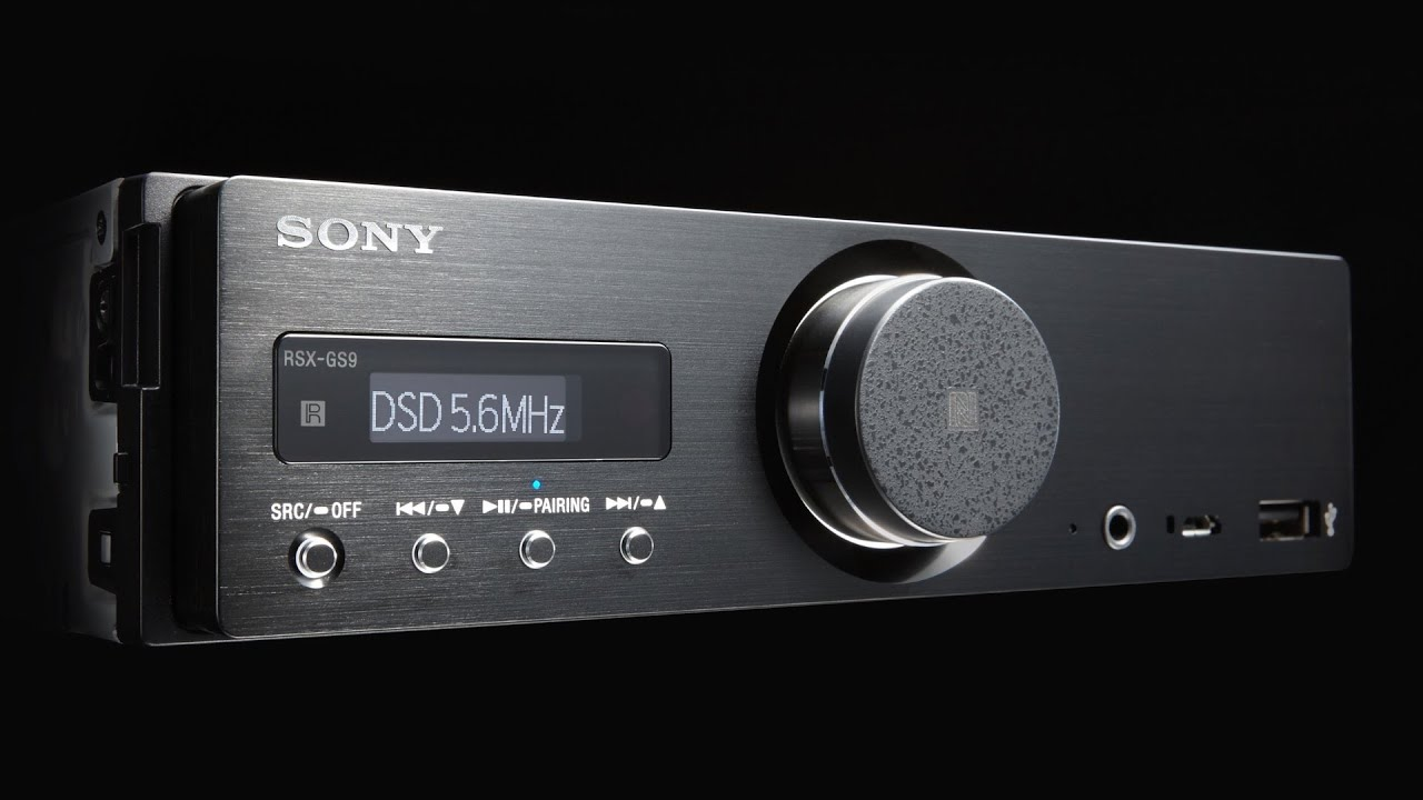 Sony Rsx-gs9 Hi-res Car Stereo Receiver