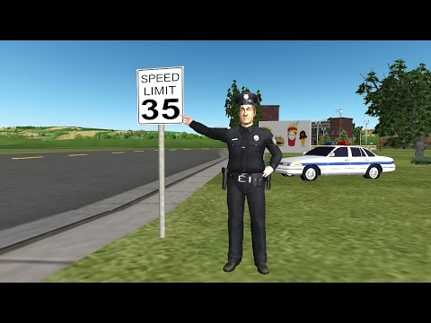 Beat Speed Traps & Learn Basic Speed Law Under California