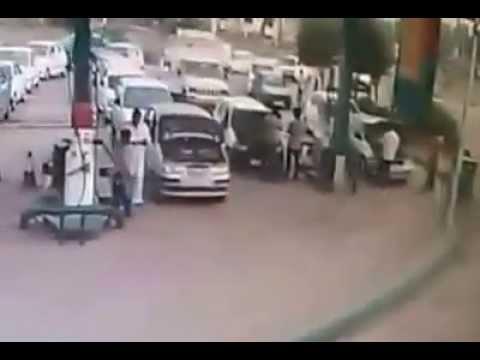 NARELA CNG PUMP - BLAST DURING CNG FILLING IN CAR