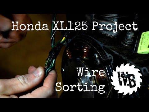 [DIAGRAM_5LK]  Honda XL125 Project - Wiring Part 1 - YouTube | Xl125 Wiring Diagram |  | YouTube