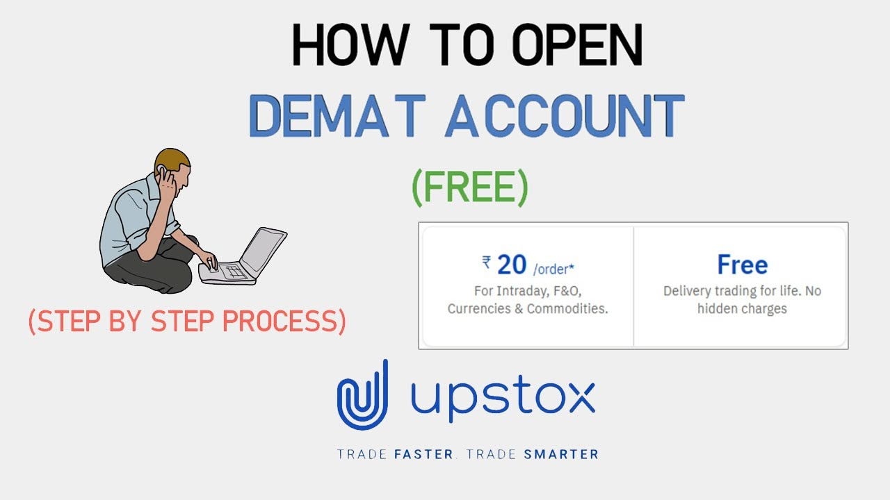 Upstox Free Demat and Trading A/C Open | Step by Step Process (2021) | Hindi