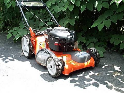 BELT REPAIR on Husqvarna Lawnmower 65021 ES