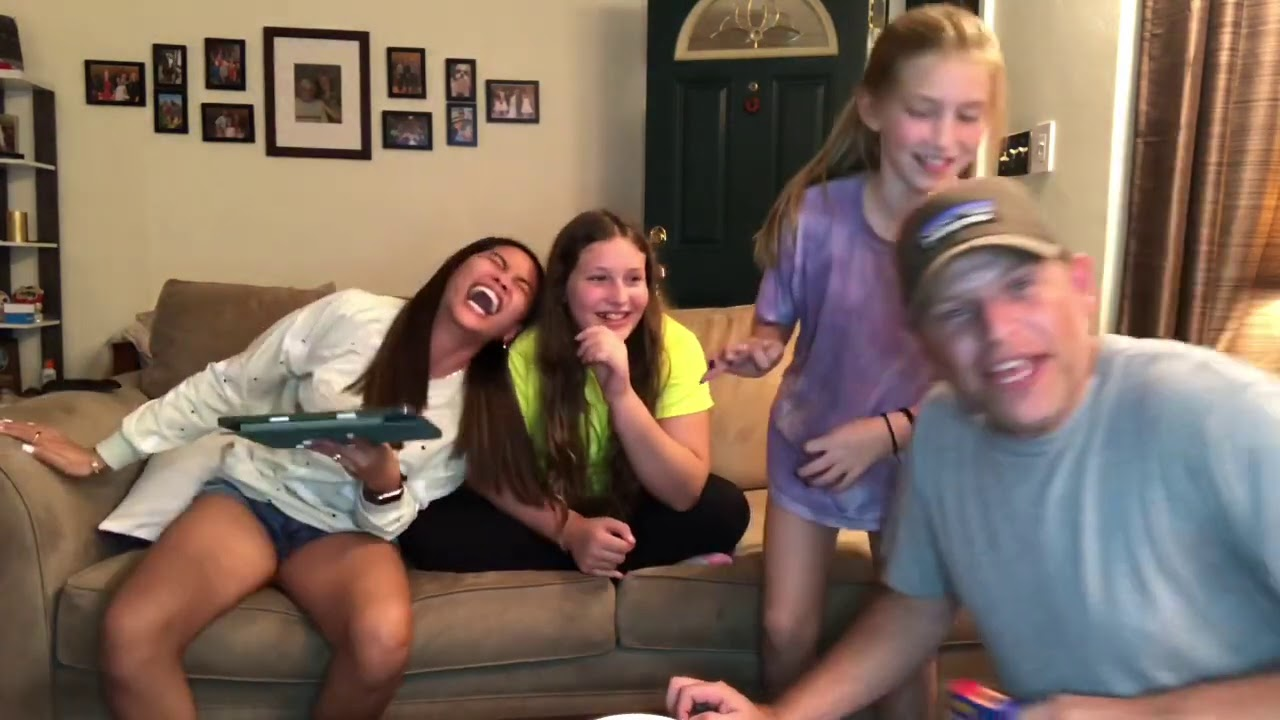 Tounge twister challenge with a twist of Boozled Bean challenge with the girls