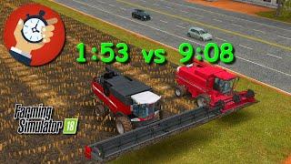 #22 Pojedynek maszyn Małe vs Duże - Kombajny - Farming Simulator 18 | FS 18