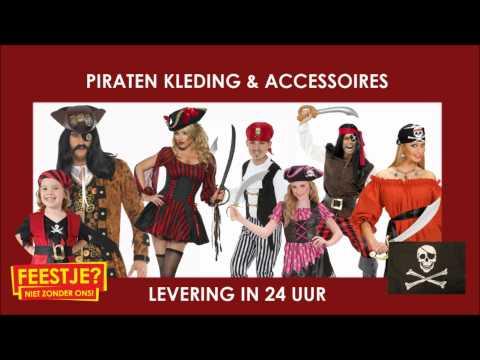 Piraten kleding, accessoires en piratenpakken