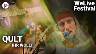 QULT - Ihr wollt | WeLive Festival | Live im Schlachthof | Corona Special