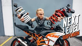 KTM RC 200 RACE SUSPENSION UPGRADE | RokON vlog #67