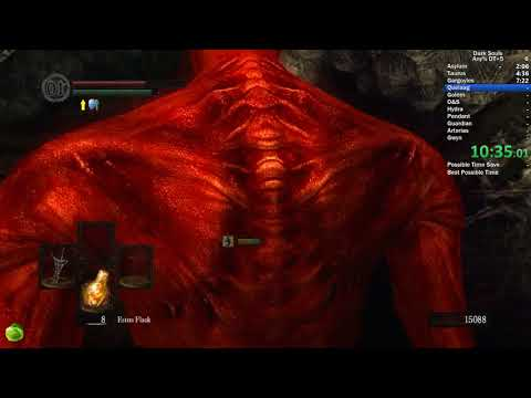 Dark Souls Any% Dragon Tooth +5 in 35:55 IGT