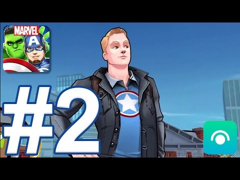 MARVEL Avengers Academy - Gameplay Walkthrough Part #2 - Level 9-14 (iOS, Android)