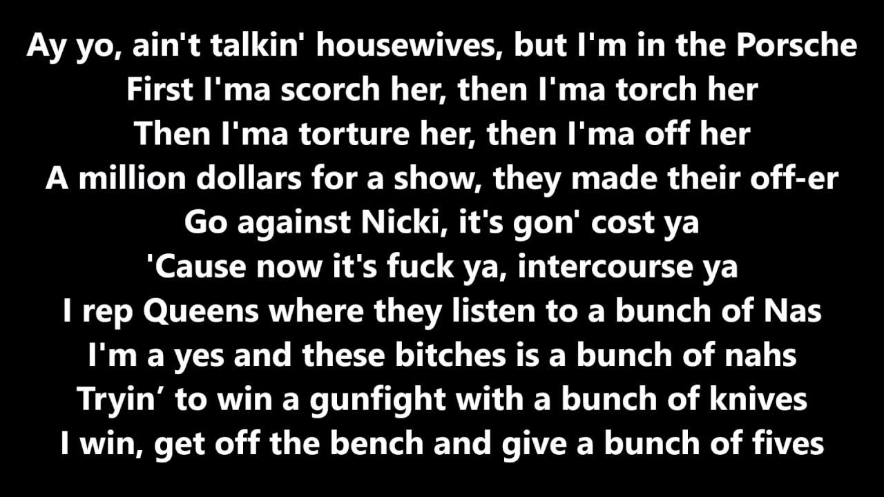 Nicki Minaj - Make Love ft Gucci Mane (Lyrics) - YouTube