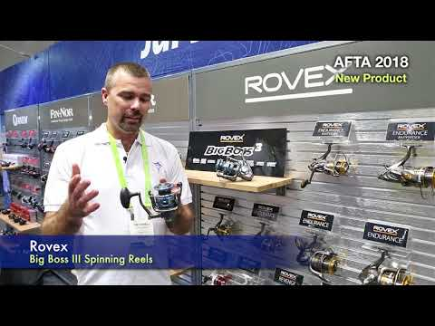 Rovex Big Boss 3 Spinning Reel - Big Fish For Low $$$