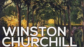 Winston Churchill: A collection of 77 paintings (HD)