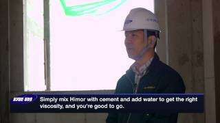 How To Use Cement Mortar Admixture [Himor]