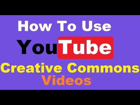 How To Use Youtube Creative Commons Videos