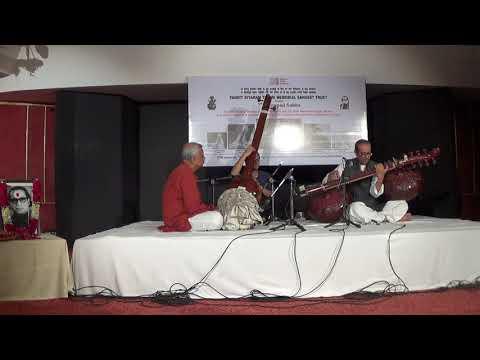 Ud Bahaud din Dagar Rageshwari Alap on Rudra Veena part 1