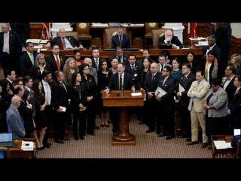 Texas House approves 'sanctuary city' bill