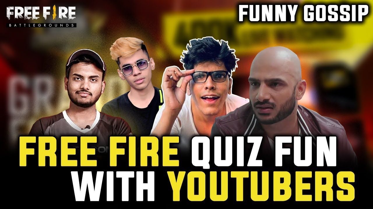 QUIZ FUN WITH @Mythpat @UnGraduate Gamer @Assassins ARMY SIVANKIT AND OTHERS | FREE FIRE HIGHLIGHTS
