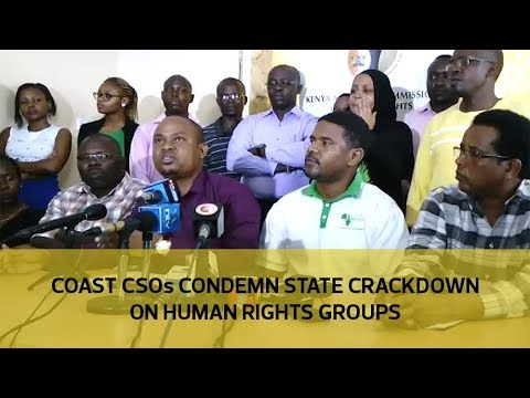 Coast CSOs condemn state crackdown on human rights groups